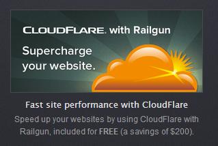 Hosting có Railgun CloudFlare Business